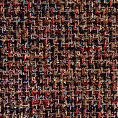 Colori Vintage - Tessuto Chanel laminato